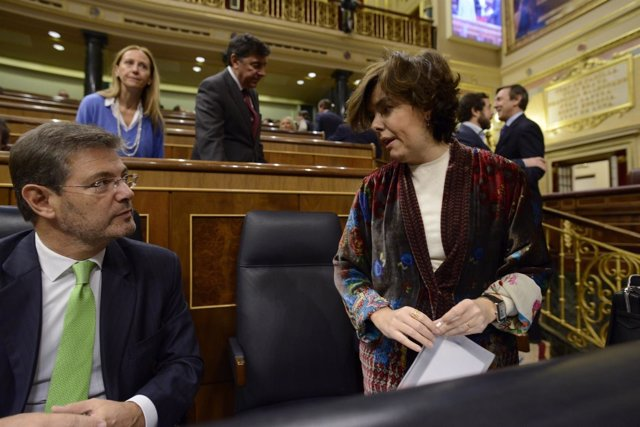Rafael Catalá y Soraya Sáenz de Santamaría