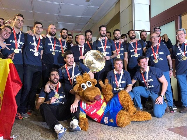 Hispanos selección española balonmano Barajas
