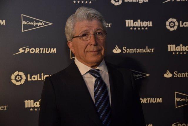 Enrique Cerezo Atlético Premios de la Asociación de la Prensa Deportiva Madrid