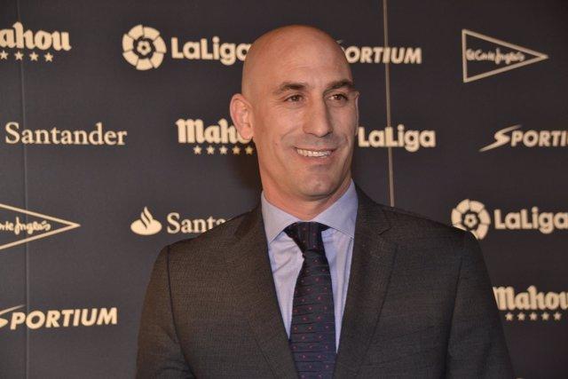 Luis Rubiales Premios Asociación de la Prensa Deportiva de Madrid
