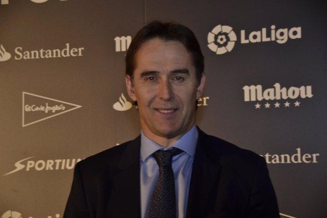 Julen Lopetegui Premios Asociación de la Prensa Deportiva de Madrid