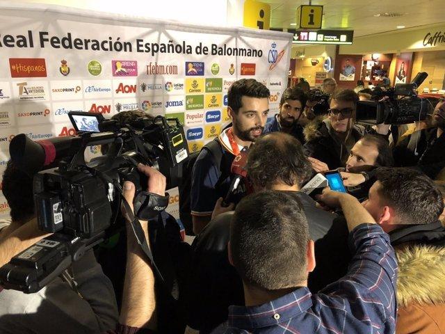 Ferran Solé selección española balonmano Hispanos