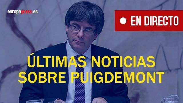 Noticias sobre Puigemont hoy, directo