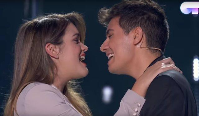 Amaia y Alfred en Operación Triunfo 2017