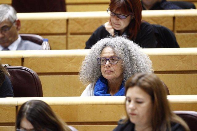 Margarita Quetglas, senadora del Podemos