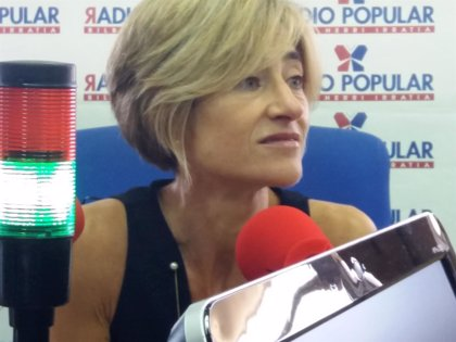 Pili Zabala se reincorpora al Parlamento Vasco tras varios meses de ausencia por una baja médica