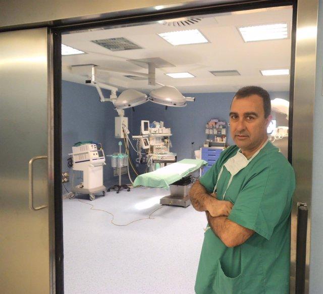 El doctor Miguel Ángel Toledo
