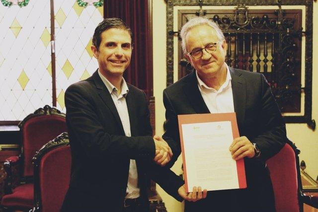 Alcalá De Henares: El Ayuntamiento De Alcalá Firma Un Convenio Para El Estudio D