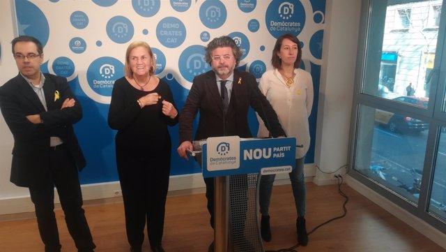 Carles Sala, Núria de Gispert, Antoni Castellà i Assumpció Laïlla