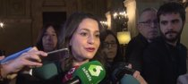 "Arrimadas (Cs) denuncia la ""farsa"" de Puigdemont"