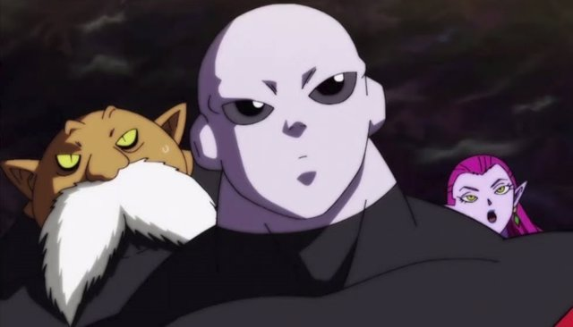 Jiren y Toppo en Dragon Ball Super