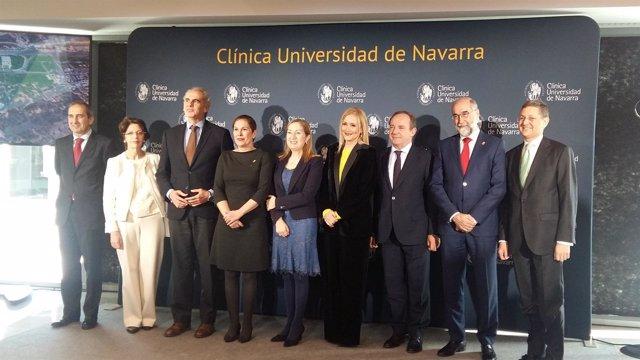 Inauguración oficial de la sede de la Clínica Universidad de Navarra en Madrid