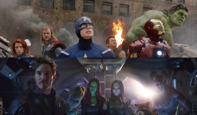 Nueva imagen promocional de Infinity War