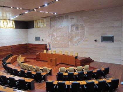 La Asamblea de Extremadura celebra este jueves un debate monográfico sobre la reforma de la financiación autonómica