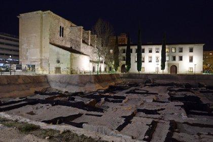 El yacimiento arqueológico de San Esteban estrena iluminación