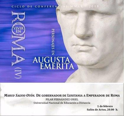 La profesora de la UNED Pilar Fernández-Uriel ofrece en Mérida una charla sobre el emperador romano Marco Salvio Otón