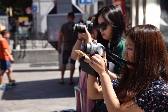 Turismo, turista, turistas asiáticos