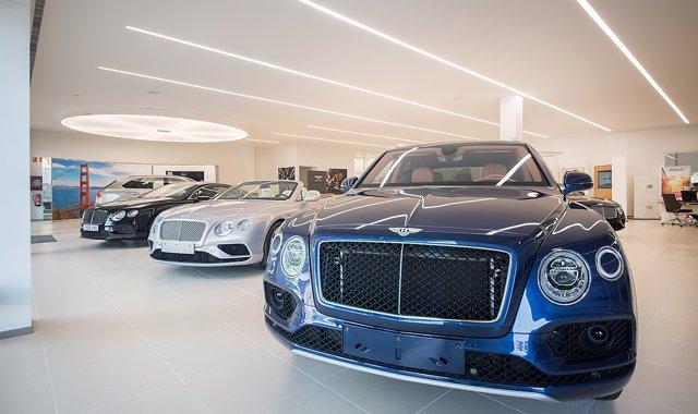 Concesionario de Bentley en Barcelona