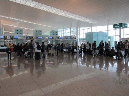 Más de 6.000 personas visitaron los aeropuertos de Aena en Catalunya en 2017