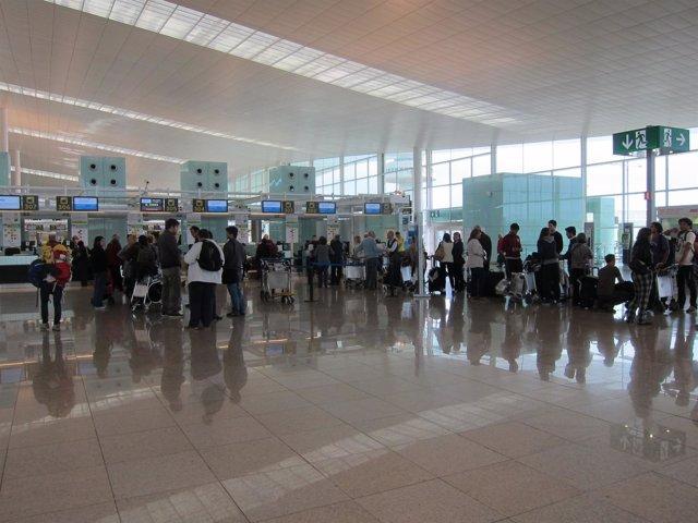 Tterminal T1 Aeropuerto de El Prat