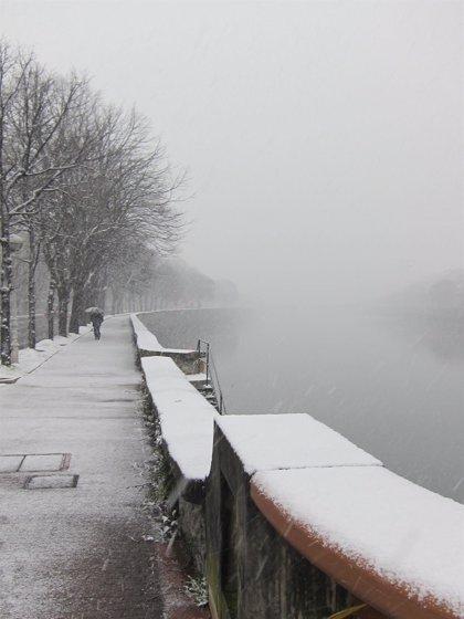 Aemet comunica alerta naranja por nevadas en el interior de Gipuzkoa entre este jueves y el sábado