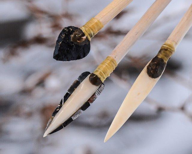 Reconstrucción de armas letales de hace 14.000 años