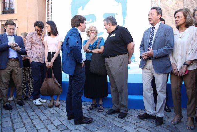 José Luis Martínez-Almeida y Carmena en el homenaje a Miguel Ángel Blanco