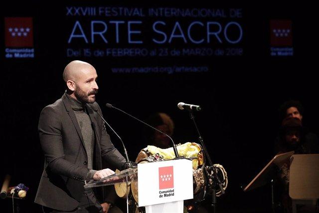De Los Santos En La Presentación Del Festival Internacional De Arte Sacro De La
