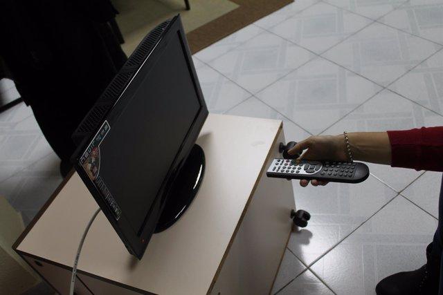 Consumo televisión, televisión