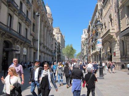 Catalunya lideró la llegada de turistas extranjeros en España en 2017 con 19 millones, un 5% más