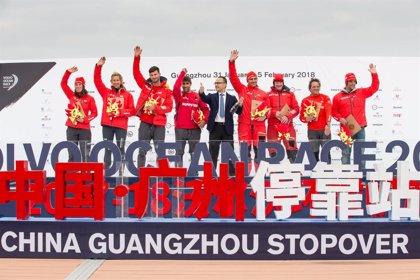 El 'MAPFRE' llega a Guangzhou (China) para disputar una costera el sábado