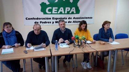 La Plataforma Estatal por la Escuela Pública amenaza con la calle si no participa en la negociación del Pacto educativo