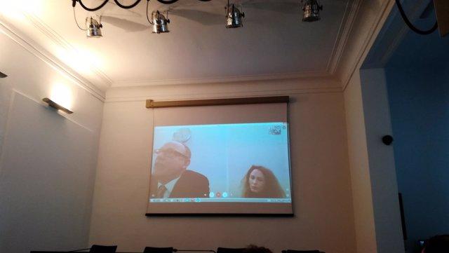 Rueda de prensa del abogado Ben Emmerson en Londres, seguida en Òmnium