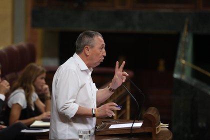 """Compromís reclama unos PGE """"justos"""", sin """"chantaje"""" y rechaza entrar en el """"mercadeo"""" de inversiones"""