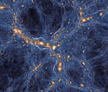 Simulación del Universo en un cubo de mil millones de años luz de lado