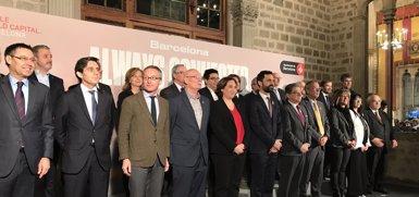 """Colau assegura que Barcelona està preparada per """"liderar"""" la quarta revolució industrial (EUROPA PRESS)"""