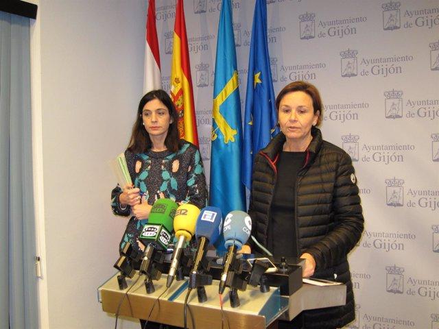 Ana Braña Y Carmen Moriyon