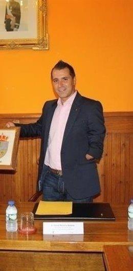 David Moreno, alcalde de Aller