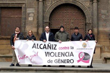 Alcañiz (Teruel) guarda cinco minutos de silencio para condenar la violencia machista