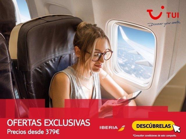 TUI Spain e Iberia lanzan una campaña con precios especiales en febrero