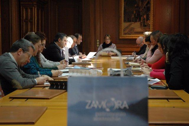 Reunión del Patronato de Turismo de Zamora.