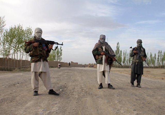 Milicianos talibán