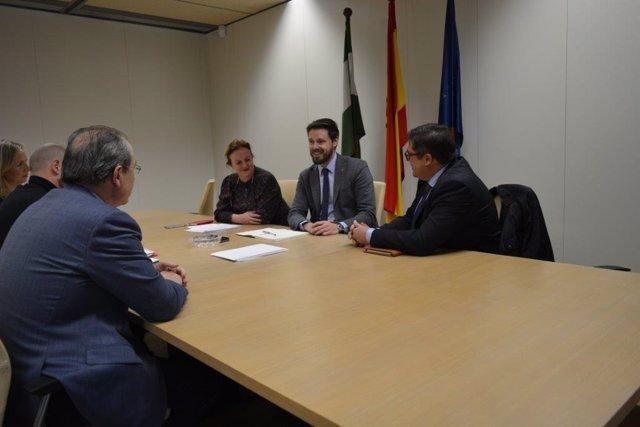 Junta y Endesa abordan los cortes de luz en municipios