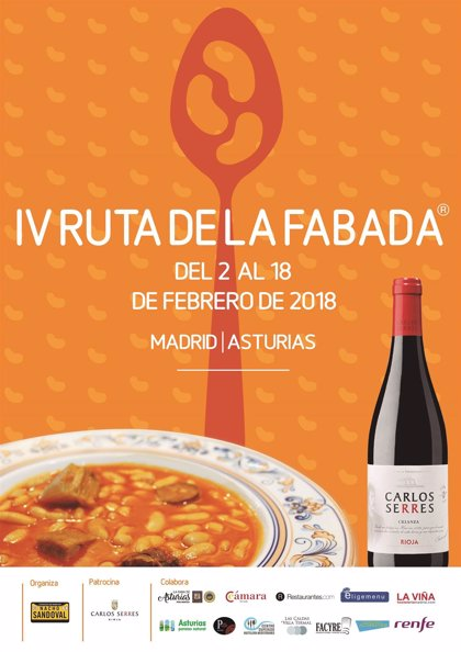 La IV Ruta de la Fabada une a 48 restaurantes de Madrid y Asturias para fomentar el turismo gastronómico