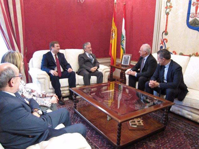 Reunión Protección Civil con Ceniceros