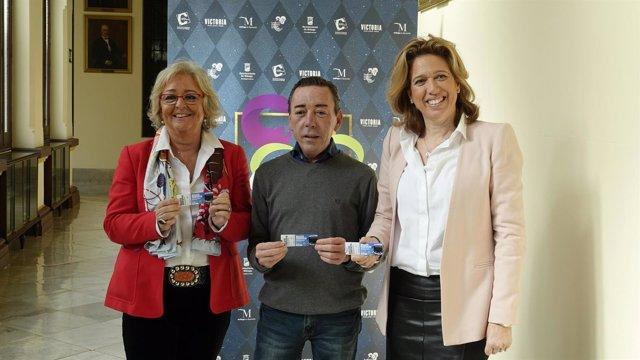 Teesa Porras, Elvira Maeso y Rafael Acejo