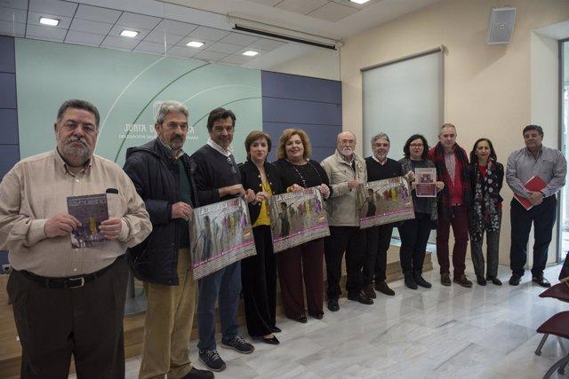 Presentación de las actividades por el 81 aniversario de La Desbandá