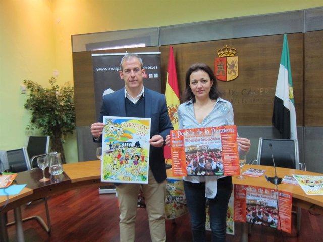 Malpartida de Cáceres presenta su carnaval  y las jornadas de patatera