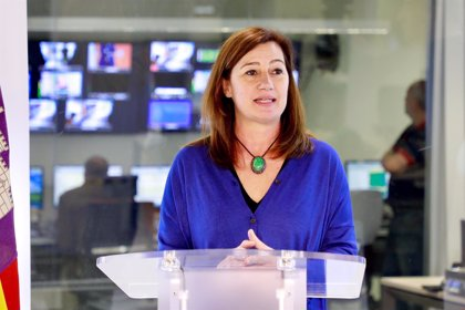 Las autoridades asisten a la inauguración del nuevo centro territorial de TVE en Baleares