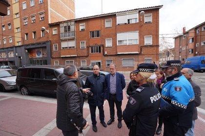 El Ayuntamiento de Valladolid valora el desarrollo del la rehabilitación del 29 de Octubre